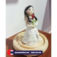 Nặn Europe Doll bằng Đất Sét Nhật - A Clay