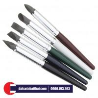 Bút silicone miết 5 chi tiết cho đất sét Nhật, Polymer Clay