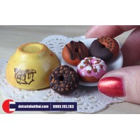Dùng đất sét Nhật A để nặn Minifood, Miniature