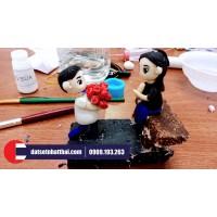 Đất Sét Nhật A - Hướng dẫn nặn chibi couple tỏ tính dễ thương