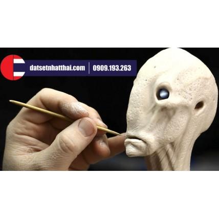 Polymer Clay Alien - Nặn đất sét Polymer Người ngoài hành tinh