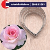 KHUÔN CẮT HOA HỒNG ĐẤT SÉT KHỔNG LỒ - BIG ROSE PETAL CUTTERS