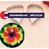 KHUÔN HOA DÂM BỤT, BÔNG BỤP BẰNG ĐẤT SÉT - HIBISCUS FLOWER CLAY CUTTERS