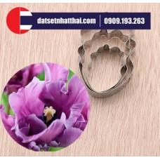 KHUÔN HOA ĐẤT SÉT TULIP 7 MÀU - PARROT TULIP FLOWER CLAY CUTTER