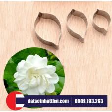 KHUÔN HOA NHÀI ĐẤT SÉT CẮT HOA LÀI - JASMINE FLOWER CLAY CUTTER