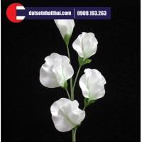 Hoa đất sét hoa trà pea clay flower